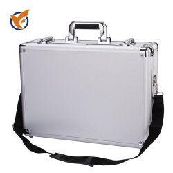 알루미늄 하드 박스 툴박스 서류 가방 휴대용 스토리지 툴박스 휴대용 오거나이저 비행 카메라 장비 도구 케이스