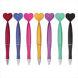 심혼 모양 플라스틱 Ballpen, 인쇄하는 Cutom 로고, 인어를 가진 플라스틱 Ballpen는 플라스틱 Ballpen 의 선전용 선물 볼펜을 형성했다