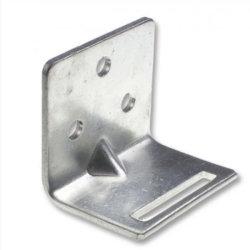 平らな陽極酸化されたアルミ合金6061 5052は放出AC圧縮機L壁の台紙ブラケットを調節する