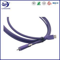 De industriële Uitrusting van de Draad van de Camera met Micro USB 3.0 voegt Am aan de Micro- Kabel van BM toe