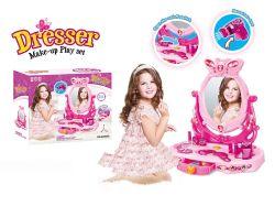 贅沢は演劇のおもちゃの子供の美のおもちゃの美しい化粧台のふりをする