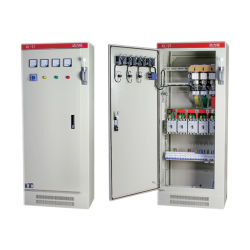 Elevador de tensión baja al aire libre de Humedad Temperatura armarios de control eléctrico