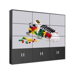 شاشة عرض LCD لإعلانات الشاشة الرقمية لنظام مخصص تعمل باللمس حائط الفيديو
