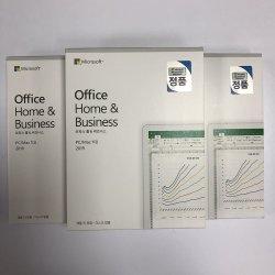 Coreano Office Home Business 2019 Chave Digital Licenças do Office Home e Business 2019 Mac/PC Windows 10 Sistema de Operação