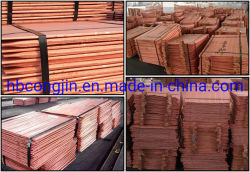 Elektrolyt Kupfer Kupfer Kathode Blech Kupfer Ingot