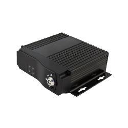 Het dubbele Facultatieve Voertuig Mobiele DVR 3G/4G/GPS van g-Senor van het Kanaal van Mdvr Ahd van de Kaart van BR 4CH 720p Super Mini