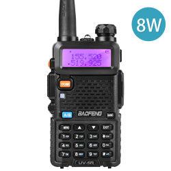 Uv-5r het Station van het CITIZENS BAND van de walkie-talkie UV5r 8W 10km UV5r Bidirectionele Radio van de 128CHVHF UHF Dubbele Band voor de Radio's van de Ham van de Jacht