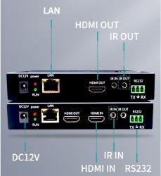 Soporte de moda 4K30 RS232 larga distancia de transmisión 100m extensor HDMI Con Poe para receptor