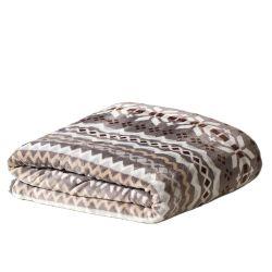 Custom шерсть ягненка кашемира размера кинг тяжелых шерпа офсетного полотна