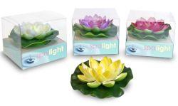 Luz LED SPA EVA Waterlily decoración luz flotante