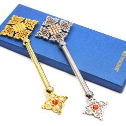 صلاة القدس الدينية تمسك الصليب الأحمر قلادة ماسية العقد سوار مع صندوق