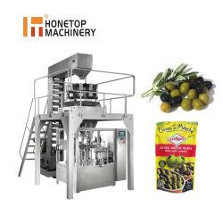 Ya confeccionados bolsa/Doypack automático/Bolsa Bolsa Ziplock/Máquina de embalaje de alimentos de la bolsa de cremallera