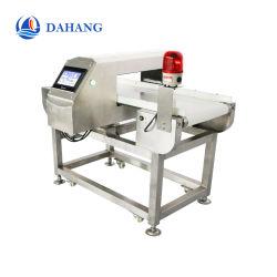 Cinta transportadora de alta sensibilidad del detector de metales para la industria alimentaria