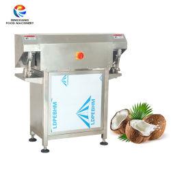 Coquille de noix de coco dépose semi-automatique Remover Dehusking décorticage Machine