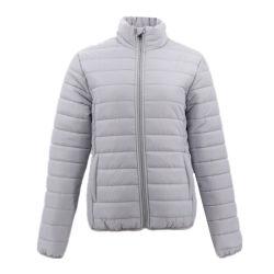 方法女性のジャケットポリエステルパッファーの不足分のプライベートラベルのスキー女性の泡ジャケット