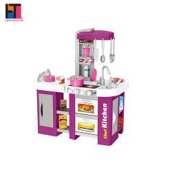 La cucina di plastica del gioco del Amazon dei giocattoli all'ingrosso di formazione prescolare ha impostato per i capretti