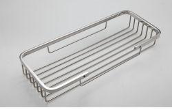Cesta de la horca el cuarto de baño Accesorios de almacenamiento de Metal Cesta de la ducha
