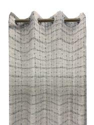 L'art abstrait figure géométrique rideaux Jacquard 8 oeillets pour la chambre Salle de séjour, 54x84 pouces; tissu Rideau