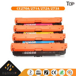 Kompatible Farben-Toner-Kassette für HP-Drucker 650A (CE270A/271A/272A/273A)