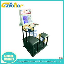 Neueste MünzenStraßenkampf-Spiel-Säulengang-Simulator-Videospiel-Maschinen-Säulengang-Schrank-Spiel-Konsole für Spiel-Mitte