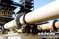 100-200 T/D pequeño horno rotativo para la planta de proceso de calcinación de piedra caliza en la línea de producción de cal rápido