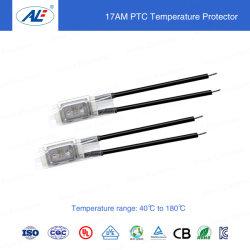 Protecção térmica do motor com controlo PTC/temperatura com PTC 40º C - - 180º C