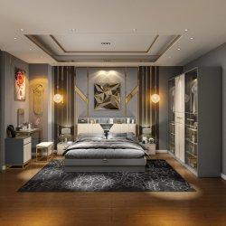 Shiyi New Arrival 스타일리시한 디자인, 현대적인 럭셔리 침실 세트 가구 마스터 침실 판매