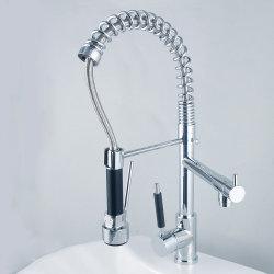 Xiduoli真鍮のクロムによってめっきされるKitchen&Bath&Bathroomの流しFaucets&Tapはとのスプレーをおろす