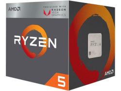 AMD Ryzen 5 2400g 데스크탑 프로세서 3.9GHz 4코어 CPU