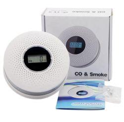 직접 연결된 Batterie CO 가스탐지기 이중 연기 및 일산화탄소 검출기 경보