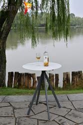 屋外の庭のホーム家具の側面表の茶表のコーヒーテーブル