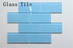 Piscina nueva construcción de edificios 8mm de espesor de cuarto de baño Iridiscent mosaico de cristal