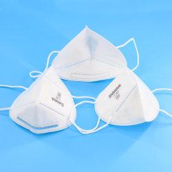 Distributeur en gros envoi rapide Impression logo Giebielok Fashion contour de protection de la poussière 5 ply faciale jetable FFP2 N95 KN95 masque facial