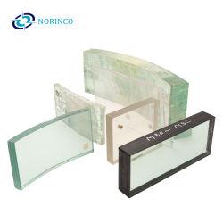 Tintado militar y civil claro Vidrio Laminado Vidrio antibalas de vidrio resistente de alta resistencia