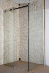 Ванная комната Chrome Clear закаленное стекло душевая кабина Cabina