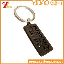 Les ventes à chaud en alliage de zinc métal en émail doux/disque porte-clés (YB-KR-1)