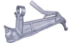 50mm Towball quattro accoppiamenti del foro con la leva di freno