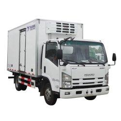 Isuzu 4*2のリーファーボックストラックはボックストラックのスリラーのトラック、5tによってを冷やされているトラック、冷却装置トラック、移動式フリーザーのトラック、冷蔵室ボックストラック冷やした