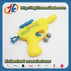 Смешные детский открытый съемки пластмассовые игрушки пистолет съемки шаровой опоры рычага подвески