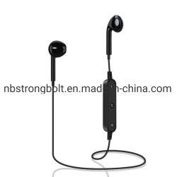 S6 fone de ouvido Bluetooth sem fio Mini Auscultadores de música estéreo para auscultadores desportivos