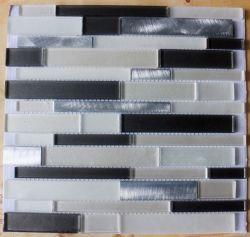 Verre en cristal Hot-Selling avec du métal Mashup de mosaïques