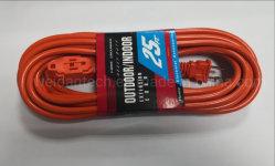 قوة الدفع في الخارج 2 X AWG16 SVT 2 Prong كابل التمديد
