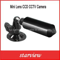 감시 소형 렌즈 안전에 의하여 숨겨지는 IR CCD 방수 CCTV 사진기 (SV60-M342B)
