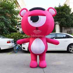 Exposition en plein air personnalisé Animal gonflable costume pour la promotion