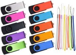 Novo estilo de mini-Metal 32GB USB Flash drives USB 2.0 Pen Drive 16GB 8 GB 4 GB Pendrives U Disk