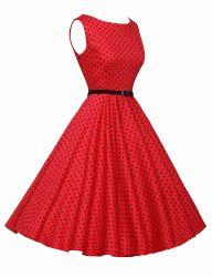 02赤く黒い点の泡方法不足分の印刷の服