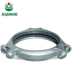 Bande de serrage cannelés en acier inoxydable de moulage de précision en acier inoxydable couplage Flexlible