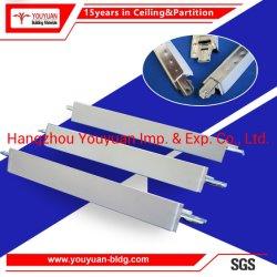 PPGI PLAFOND 24mm de largeur T Système de suspension de la barre de grille pour les dalles de plafond