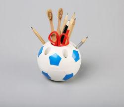 Plástico titular de la pluma de fútbol útil