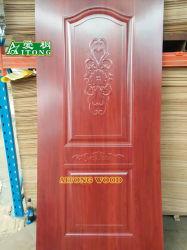 MDFのドアのために普及したMDF型のドアの皮のための新式の型